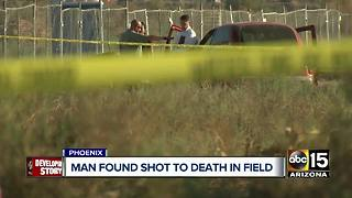 Man found dead in field, police say - Video