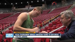 NCAA Tournament tips off in San Diego - Video