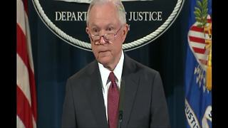 Attorney General Jeff Sessions announces end of DACA program