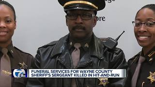 Funeral arrangements announced for Wayne County Sheriff's sergeant hit and killed while jogging
