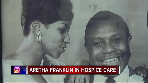Aretha Franklin is 'gravely ill' at Detroit hospital, according to family