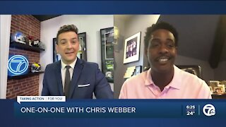 One-on-one with Chris Webber