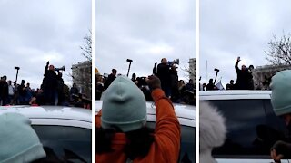 Alex Jones Video Footage Telling Trump Supporters NOT to Enter U.S. Capitol Buildings Jan 6th