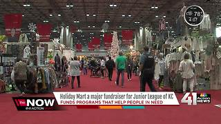 Junior League Holiday Mart opens at Bartle Hall - Video