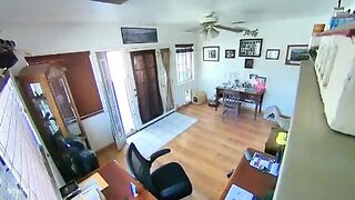 Earthquake Caught on Security Cam
