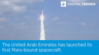 The United Arab Emirates has launched its first Mars-bound spacecraft.