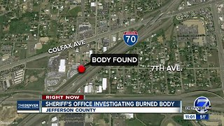 Burned body discovered after fire in Jefferson County - Video