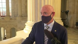 Full Interview: Arizona Sen. Mark Kelly speaks to the media after being sworn in