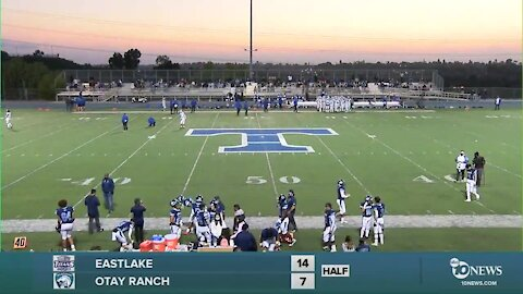 2 PREP FOOTBALL LIVE STREAM: Eastlake vs Otay Ranch
