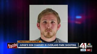 Judge's son charged in Overland Park shooting - Video