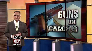 Court: University of Michigan can ban guns on campus - Video