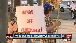 Sarasota group protests in support of Venezuela's Maduro