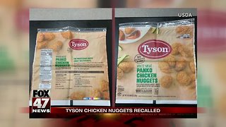 Tyson recalls more than 36K pounds of chicken nuggets nationwide