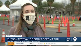 Tucson Festival of Books gets ready to kick-off virtually