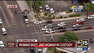 Air15 over shooting in Glendale, 1 hospitalized