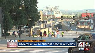 Broadway 10k to support Special Olympics - Video