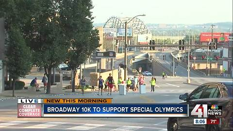 Broadway 10k to support Special Olympics