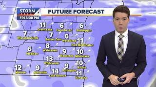 Chilly, windy day on tap - Video