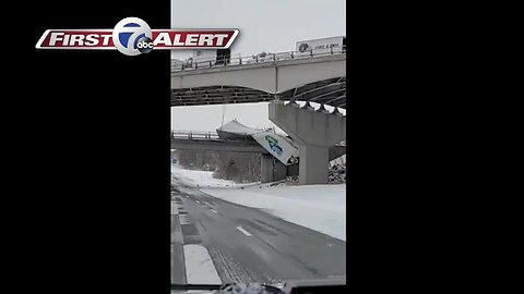 NYSP: tractor trailers crash on I-86 due to weather
