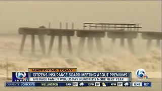 Citizens property insurance rates may go up - Video