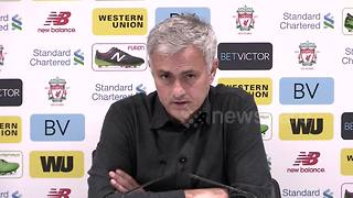 Mourinho defends tactics against Liverpool - Video