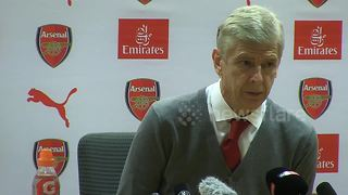 "Wenger rejects idea that he should have ""parked the bus"" - Video"