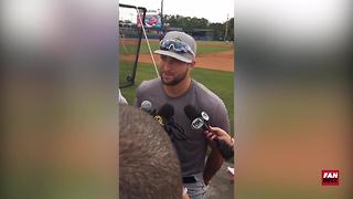 Tim Tebow talks about his baseball career and his future plans | Fanbuzz - Video