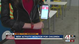 New activity monitor for children - Video