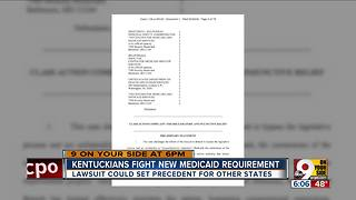 Kentuckians fight new Medicaid requirement - Video