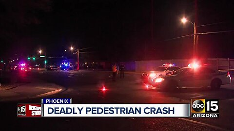 Pedestrian hit and killed at 32nd Street and Osborn