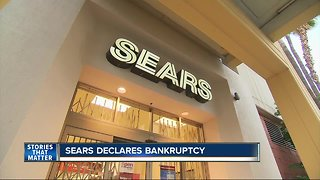 Sears files for banktruptcy