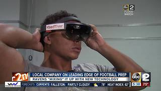 Ravens 'mixing' it up with new game prep technology - Video