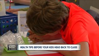 Back to school health: immunizations - Video