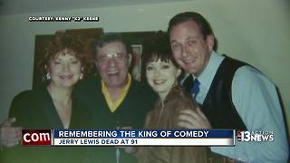 Friends, performers remember Jerry Lewis
