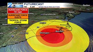 Update on Hurricane Florence - Video