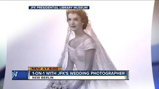 On This Day in History: Wisconsin photographer takes JFK's wedding photo - Video