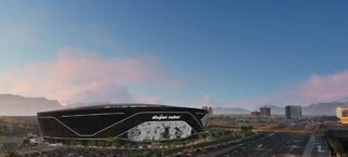 New renderings of Allegiant Stadium