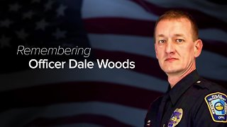 Public memorial service for Colerain Officer Dale Woods today at Cintas Center