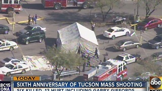 Sixth anniversary of mass shooting in Tucson - Video