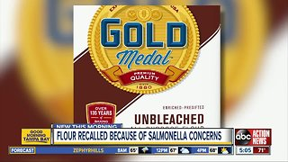 General Mills recalling five-pound bags of flour due to Salmonella concerns