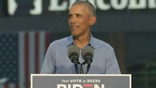 Obama Gave Canada A Shoutout While Campaigning For Joe Biden