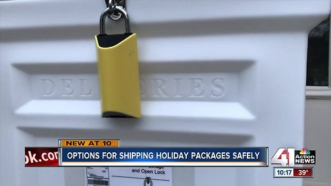 Is there any way to keep your packages safe?