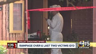 Last two victims identified in Valley shooting spree