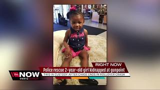 Police rescue two-year-old kidnapped at gunpoint triggering an Amber Alert - Video