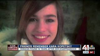 Friends remember Kara Kopetsky - Video