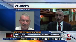 Lee County Commissioner accused of DUI heads to court - Video