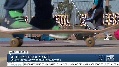 After-school skateboarding lessons teaching kids about life