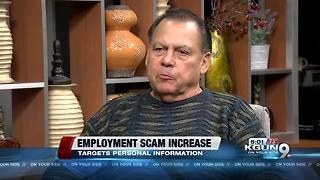 Better Business Bureau say Employment scams increase in Southern Arizona - Video