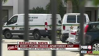 Death Investigation underway in Fort Myers - Video