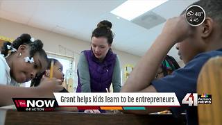 Teacher wins entrepreneurial grant for classroom - Video